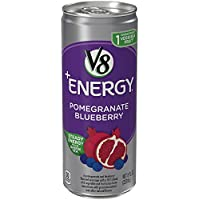 V8 Pomegranate Blueberry 8 Ounce +Energy Drink (Packaging May Vary)