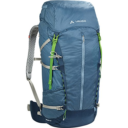 f90697e1ebd VAUDE Zerum 58+ LW Backpack - Ultra Lightweight Trekking and Hiking Backpack  - 60L - 1390 g - Individual adjustment to back length - Good fit and high  ...