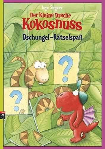 Der kleine Drache Kokosnuss - Dschungel-Rätselspaß (Spannende Rätselhefte, Band 2)