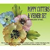 Poppy Cutters & Veiners Set