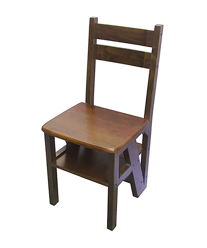 Amazon.com: NYDZDM Folding Ladder 4 Steps Ladder Chair ...