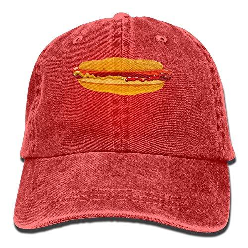 Food Hamburger for Women Denim Hat Sport Hats Cowboy Men Cap Cowgirl Skull DEFFWB g4qpx1AwW