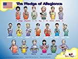 Harris Communications N386 Pledge of Allegiance 18 x 24 Sign Language Poster