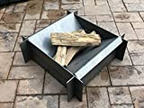 Firetrough Inferno 30″x30″ Steel Fire Pit – Made in USA Review