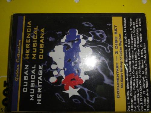 Cuban Musical Heritage : Herencia Musical Cubana (Documentary - 3 Disk Set) Cubano Set