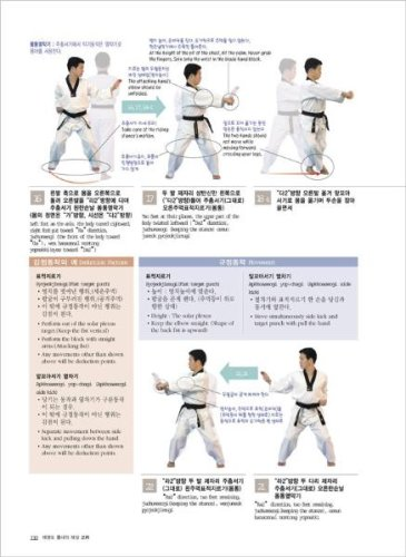 The Explanation Of Official Taekwondo Poomsae (korean