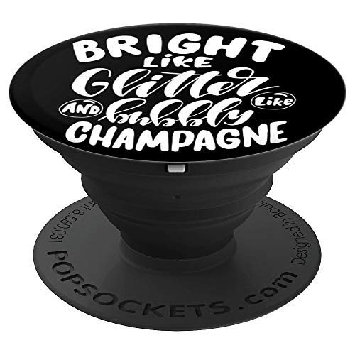 Cute Champagne Meme White Lettering PACJ1081 PopSockets Grip and Stand for Phones and Tablets
