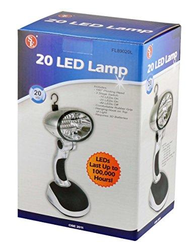 SE FL89020L 20-LED Work Lamp - bedroomdesign.us