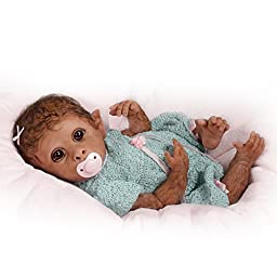 So Truly Real Weighted And Fully Poseable Baby Monkey Doll By Linda Murray by The Ashton-Drake Galleries