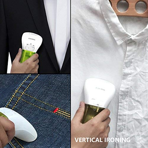 DGQ Handheld Clothes Mini Portable Travel Steamer Generators Compact Garments Fabric and Draperies F, Green