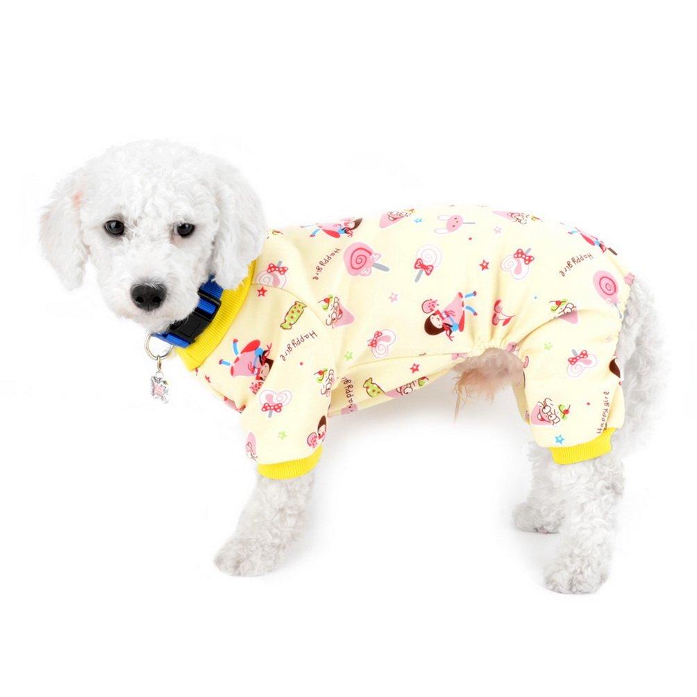 SELMAI foderato tuta in pile per cane accessorio da interni per animali