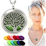 Eco Ultrasonic Diffuser Necklace, Essential Oil Aromatherapy...