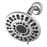 Waterpik VLD-633 Rainfall+ Round Rain Shower head, Chrome