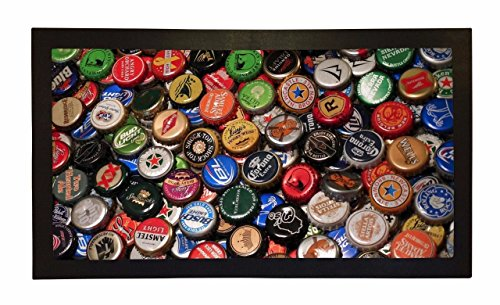 Rubber Bar Mat Bar Runner Beer Lager Bottle Tops Spill Ma...