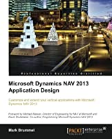 Microsoft Dynamics NAV 2013 Application Design Front Cover
