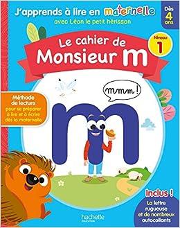 Amazon Fr Le Cahier De Monsieur M Niv 1 Collectif Livres