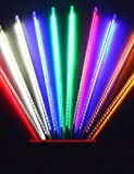 ZQ Character design Christmas Bars Wedding Led Meteor Light Single Meteor Shower Tubes Decoration Lamps 0.3M 8PCS , blue