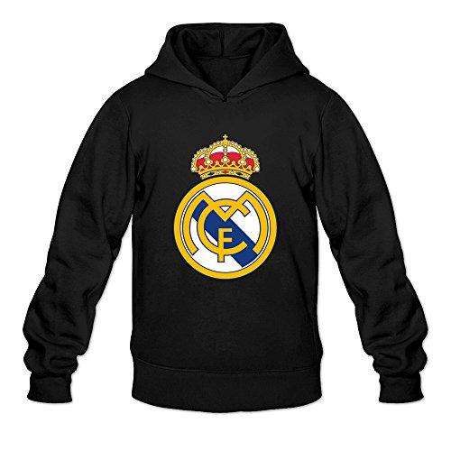 Real Logo Sweatshirt (Mens Real Madrid Logo Customized Cool Size M Color Black Hoddie By Mjensen)