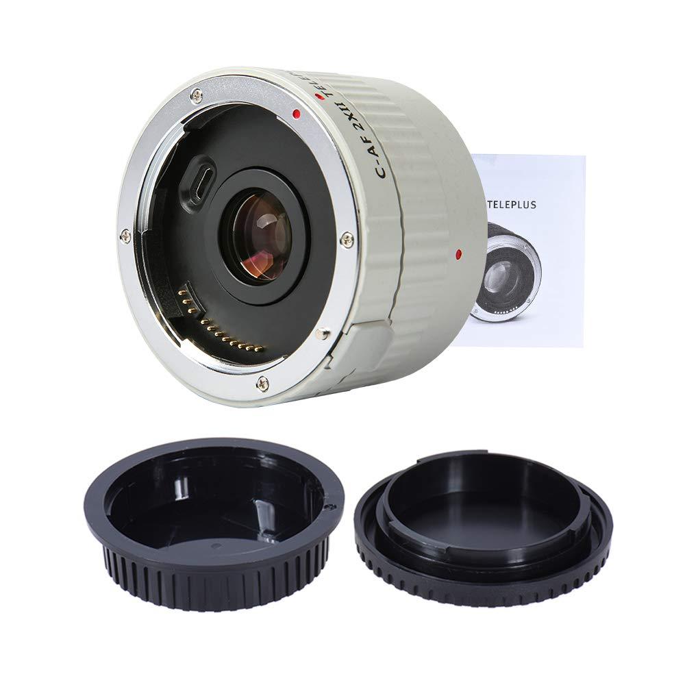 Viltrox C-AF 2XII AF Auto Focus Teleconverter Lens Extender Magnification for Canon EF Mount Lens 7D 6D 7DII 80D 5D2 5D3 5DS 5DSR 1DMark I//II//III//IV 1DS Mark I//II//III 1DX DSLR Camera