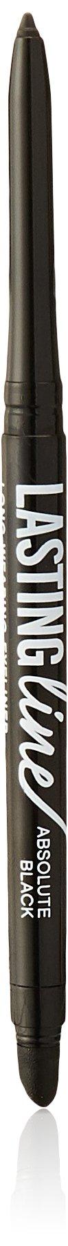 bareMinerals Long Lasting Eyeliner, Absolute Black, 0.012 Ounce