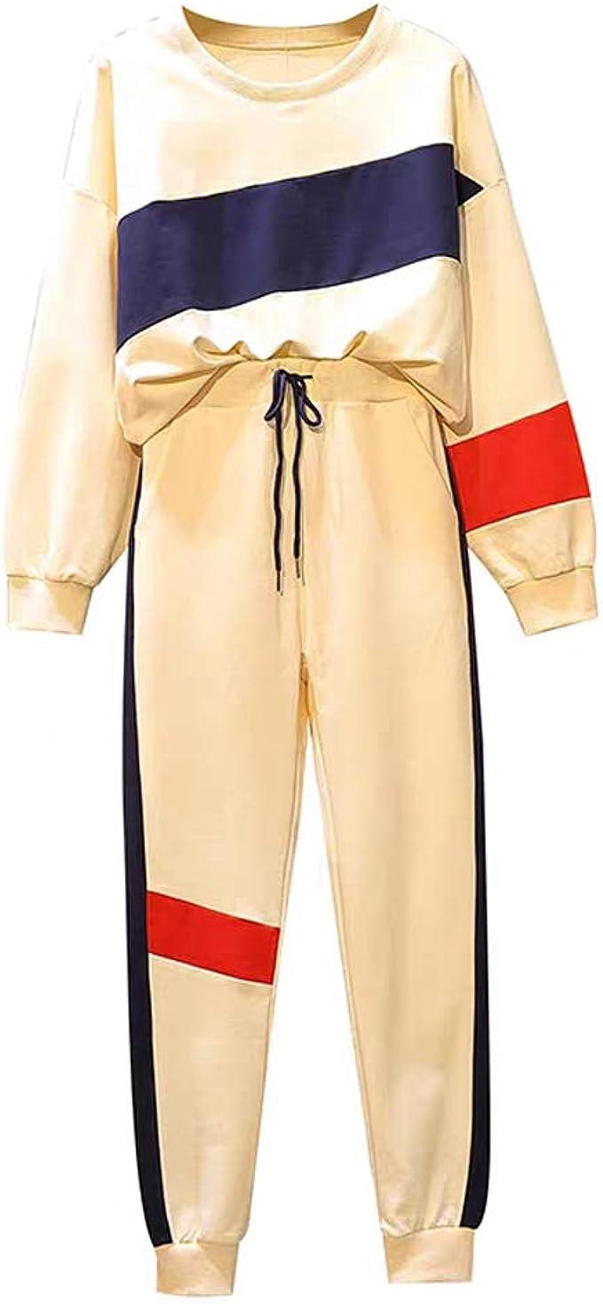Pantalones de chándal de Dos o 2 Piezas, Color Morado y Blanco, a ...