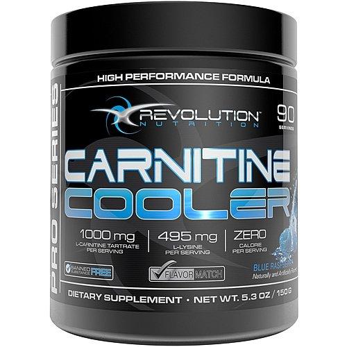 Revolution Nutrition Carnitine Cooler - Blue Raspberry 150 g