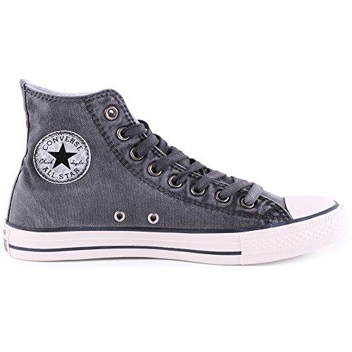 Converse Unisexe Chuck Taylor Tous Les Sneakers Lavés Par Les Étoiles Noir / Noir / Aigrette