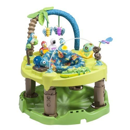 Evenflo Exersaucer Triple Fun Active Learning Center, Life in the Amazon New