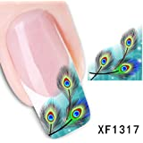 3D Nail Art Tips Stickers False Nail Design Manicure Decals Nail Art Water Nail Art Decal / Tattoo / Sticker by RayLineDo