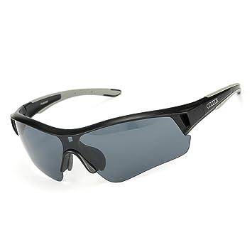 ododos polarizadas gafas de sol para ciclismo running de béisbol conducción pesca UV100 polarizadas Lenz: Amazon.es: Deportes y aire libre