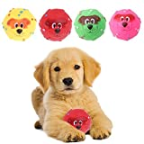 Delight eShop Pet Dog Giggle Ball Tough Treat Training Chew Sound Funny Toy Squeaky 7CM/2.76''
