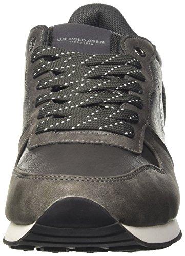 Uomo Grey S U POLO a Dark Sheridan Sneaker Basso Club Collo ASSN Grigio zOdq7OnwAx