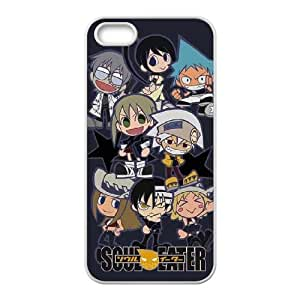 Soul Eater Characters iPhone 4 4s Cell Phone Case White NiceGift pjz0035086565