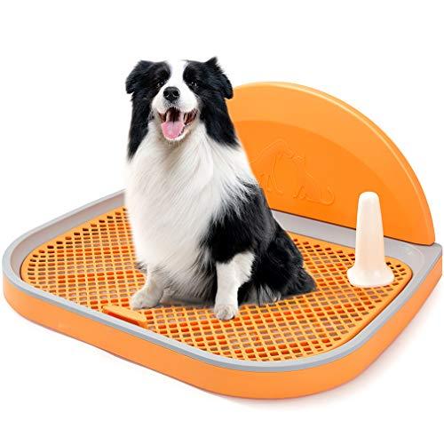 HIPIPET Dog Toilet Puppy Dog Potty Tray 23.6