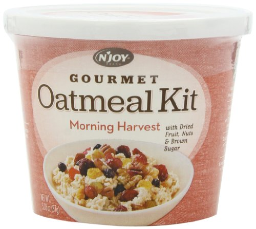 N'Joy Oatmeal Kit, Morning Harvest, 3.08 oz 8-Count ()