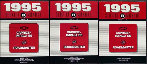 1995 Chevy Caprice/Impala SS/Buick Roadmaster Repair Shop Manual Original Set