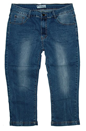 3906 Donna Wash Mittelblau Used S Jeans Jeans capri Pantalone B qXzRaP