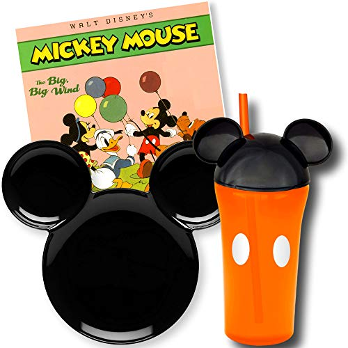 Mickey Mouse Toddler Dishes Dinnerware with Mickey Mouse