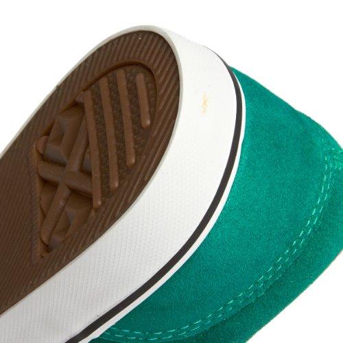 Converse CT AS Badge II OX leather green Sneaker Skate grau