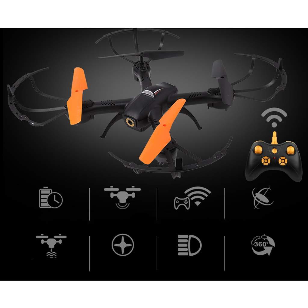 WeißAN-Drone Drohne Professionelle Fernbedienung Flugzeuge HD Luft Drohne Kinderhubschrauber Laden Shake Flugzeuge Spielzeug [UAV] einfach zu bedienen FPV 1 batteryB 32.532.510cm