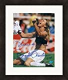 Autograph Warehouse 270460 Brandi Chastain Autographed 8 x 10 in. Photo - USA Womens Soccer Image - No. SC1 Matted & Framed
