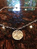 French Polynesia 1 franc coin necklace