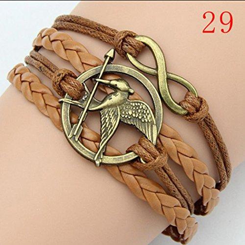 ivan-boys-girls-leather-metal-bracelet-multilayer-braided-friendship-bird-charm-bracelets