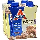 Shake, RTD, Milk Chocolate Dlght, 11 oz ( Value Bulk Multi-pack)