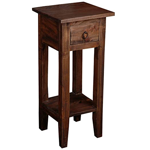 Sunset Trading Shabby Chic Cottage End Table - the best rustic end table for the money