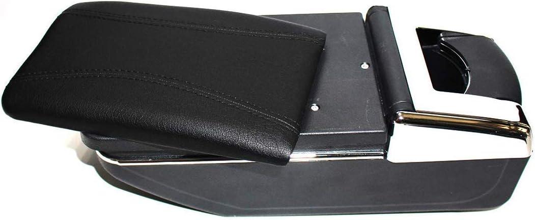 Armlehne Box Konsolen Lagerung mit Becherhalter Aschenbecher f/ür Captur Kaptur 2014-2018 Autozubeh/ör