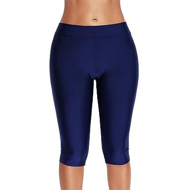 Keephen Mujeres para Mujer Swim Shorts Bikini Bottom Pants Surf ...