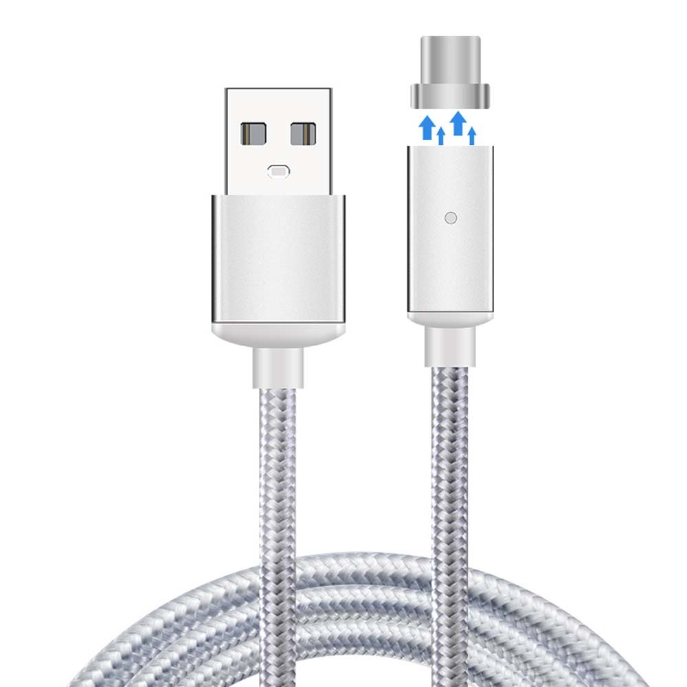 Amazon.com: USB C Magnetic Cable Nylon Braided Wire Magnetic ...