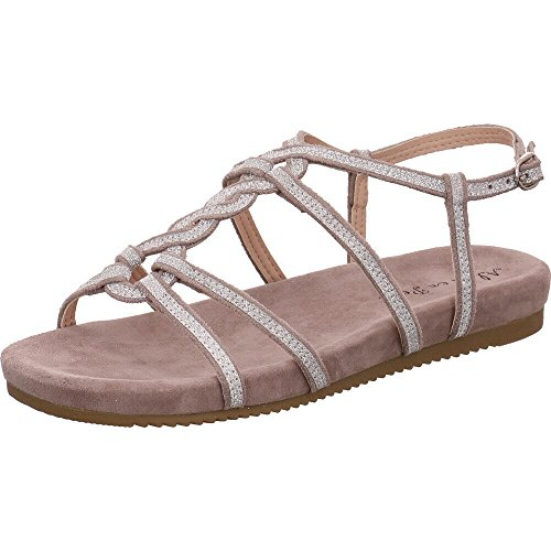 Taupe Taupe Women's V18468 Pena Suede en Fashion Sandals Alma CqwHXvC