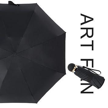 8 Hueso Super Grande Paraguas Pequeño Paraguas Negro Ultra Luz Mini Paraguas Paraguas Anti-UV